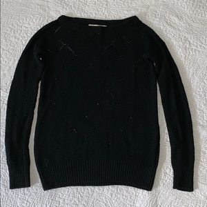 Sweaters - Loft Black Sweater XS